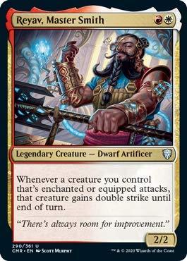 Magic: The Gathering - Reyav, Master Smith - Foil - Commander Legends