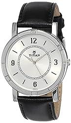 Titan Analog White Dial Men's Watch NM1639SL03 / NL1639SL03,Titan,NL1639SL03
