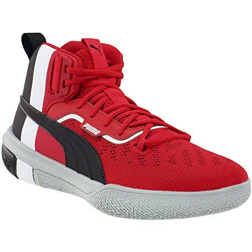 PUMA Mens Legacy Mm Lace Up Basketball Sneakers Shoes Casual - Red - Size 10.5 D