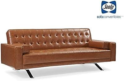 Amazon.com: Amarillo Power Reclining Leather Sofa: Kitchen ...