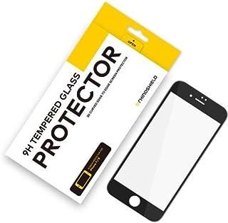 RhinoShield iPhone8/7 9H 3D 強化ガラス画面保護プロテクター 透明度抜群-黒