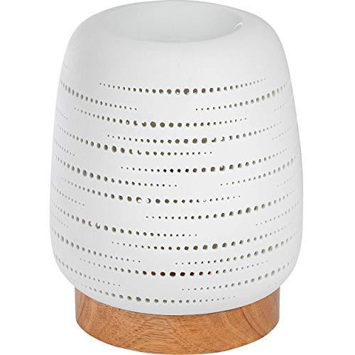 ONVAYA® Duftlampe | Elektrisch | Farbe: Creme weiß | Aroma Diffuser | Aromalampe | Duftstövchen | Modernes Duftlicht (Julian)