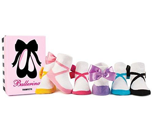 Trumpette Baby-Socken - Ballerina Bow Geschenkset in Box