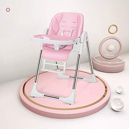 AIMLEIE Baby kinderstoel, verstelbare hoge stoel met 5 verschillende manieren om te zitten, Geschikt vanaf de geboorte, 0 maanden - 6 jaar