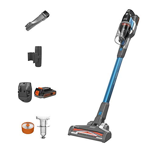 BLACK+DECKER POWERSERIES Extreme Cordless Stick Vacuum Cleaner, Blue (BSV2020G)