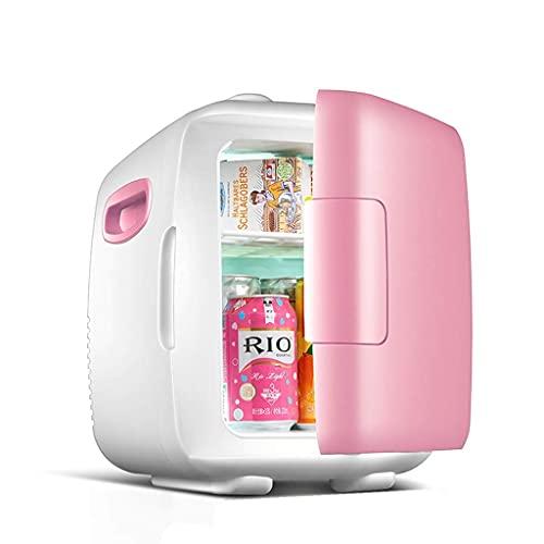 YQDSY Refrigerador Pequeño, Mini Refrigerador, Mini Refrigerador 4L / 8L Hogoría Refrigeración Pequeña Refrigeradora Dual Uso Portátil Coche Pequeño Refrigerador, Durable Zwaar Gebruik: Op