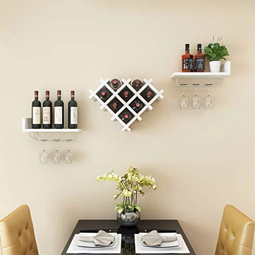 LIZHIQIANG wandplanken, dunne glazen wandplanken, drijvende planken muur gemonteerde set van 3 voor slaapkamer woonkamer badkamer keuken kantoor, 4 kleuren