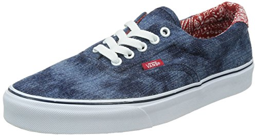 Vans Unisex-Erwachsene U Era 59 Low-top, Blau (Acid Denim/Blue/Bandana), 44 EU