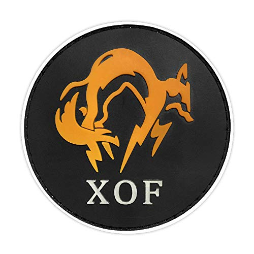 Morton Home Dragon spy MGS Game Around The New XOF Special Forces Badge (Yellow)