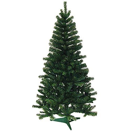 Hengda Àrbol de Navidad con Soporte 1.2M Puntas Abeto Artificial Decoración Navideña Verde 120cm 200 Ramas