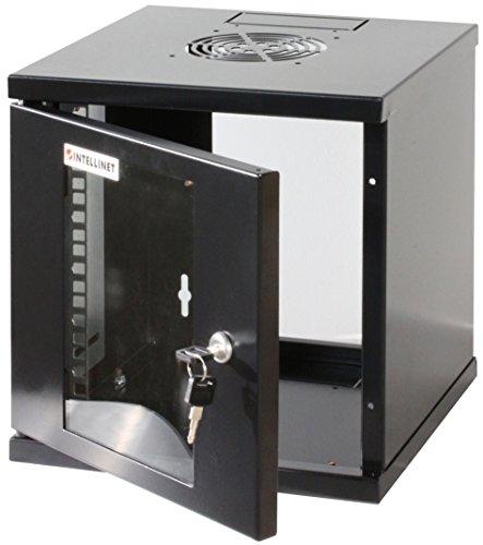 Intellinet Wandschrank 10 Zoll 6 HE 32x30x30 montiert schwarz RAL 9005 711692