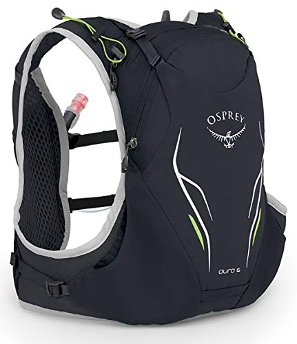 Osprey Packs Duro 6 Running Hydration Vest, Alpine Black, Medium/Large