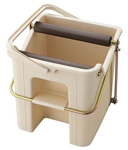 山崎産業 モップ絞り バケツ コンパクト 軽量 デイリークリーン (Daily Clean) タフスクイザーDX 181582