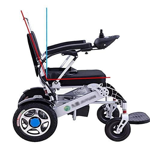 JLKDF Scooter eléctrico Plegable Viaje Ligero Plegable Seguridad Eléctrico Motorizado Transporte aéreo Pesado Eléctrico Más Seguro y más Estable, Pesa Solo 61,2 Libras