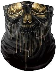 eBoutik - Skull Design Gezichtsmaskers Gezichtsbedekkingen Bandana Bivakmuts Hoofddeksels - Geweldig voor buitenreizen