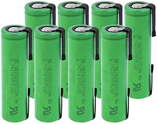 Batería de Litio 3.7v 2600mAh 35A US18650VTC5A 18650, baterías Recargables para la lámina de níquel antorcha de Soldadura Bateria