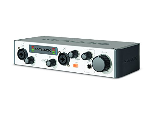 M-Audio M-Track MKII Two-Channel USB Audio Interface with Waves Plugins