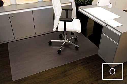 Transparente Bodenschutzmatte, 120 x 180 cm, aus Makrolon®, Schutzmatte für Parkett-, Laminat- & PVC-Böden, 17 weitere Größen und Formen wählbar