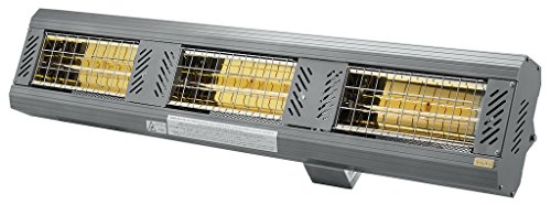 Buy Bargain SOLAIRA ICR 6,000W, 240V ELECTRIC RADIANT INFRARED ZONE/ PATIO HEATER, LOW CLEARANCE AND...