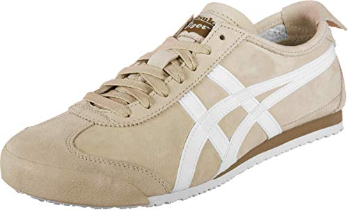Unisex onitsuka tiger mexico 66 schuhe einfach taupe / brown white 37 us