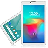Indigi 4G LTE GSM Smartphone & Tablet (Factory GSM Unlocked) 7-inch Full HD Capacitive Multi-Touch Screen Android Pie Smartphone White