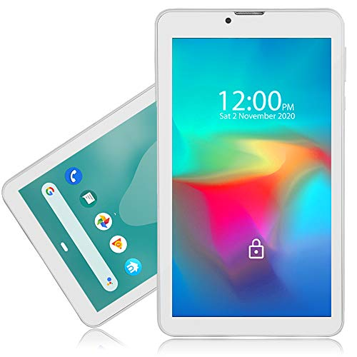 Indigi 4G LTE 7-inch WiFi Tablet PC w/DualSIM - Supports 4G Wireless GSM Unlocked AT&T T-Mobile (White)