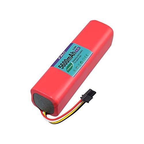 XINGWEI 14,4 V 5600mAh Aspiradora Batería de Litio de Repuesto para Mi Robot 1ra y 2da Generación, Roborock S50 S51 Aspiradora Robótica