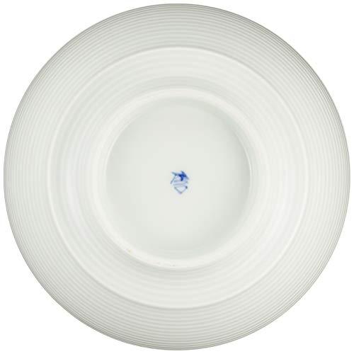有田焼 究極の ラーメン鉢 李荘窯 白磁千段 R0039