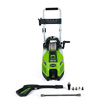 Greenworks 2000 PSI  1.2 GPM  Corded Electric Pressure Washer GPW2001
