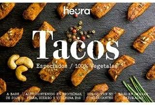 comprar comparacion Tacos Especiados HEURA 180g | 100% Vegetal | Sin Gluten (Pack de 4)