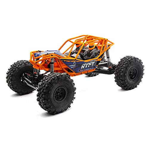 Axial RC Truck 1/10 RBX10 Ryft 4WD Brushless Rock Bouncer RTR (Battery and Charger Not Included), Orange, AXI03005T1