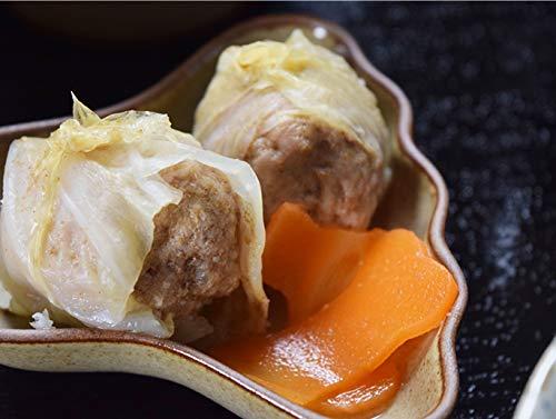愛犬用手作り食 人気お惣菜単品7食セット 豚挽き肉の和風ロールキャベツ【ハウンドカム食堂】容器ごとレンジで解凍可能