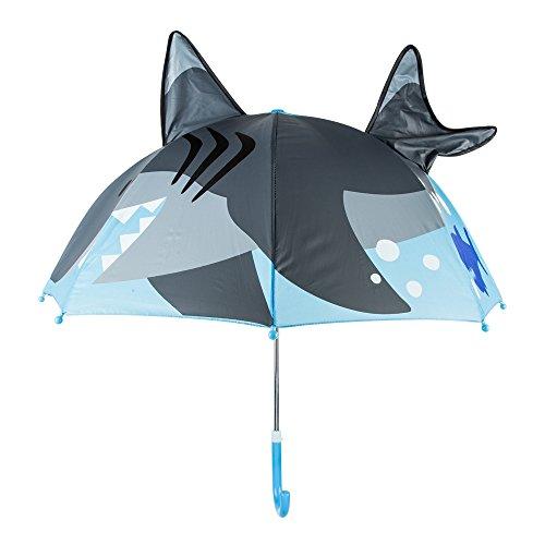 JOYIN , Ombrello classico , Blue Shark (Blu) - San-sy
