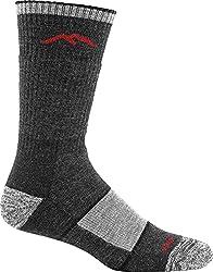 Darn Tough Hiker Boot Sock Full Cushion - Men's Black Small
