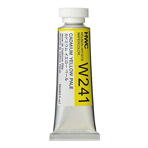 Holbein Artist's Watercolor 15ml Tube (Cadmium Yellow Pale) W241