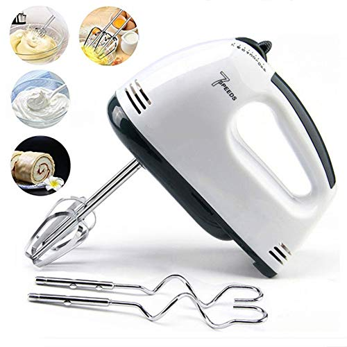 7 Speed ​​Electric Whisk Keuken Handheld Hand Mixer Machine Klopper van het Ei Roerder voor Kitchen Baking Cake Mini Egg Cream Eten Beater