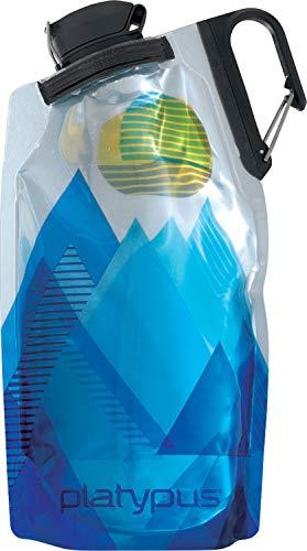 PLATYPUS Duolock Softbottle - Trinkflasche, Größe:750 ml, Farbe Platypus:Blue Peaks