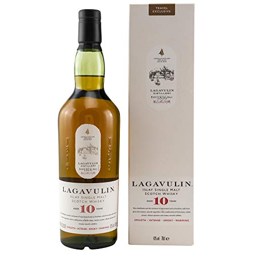 Lagavulin 10 Jahre Islay Single Malt Scotch 0,7 Liter 43{28604b63c4e165d38c7e0bdbeaa2ac727f35f6fec8ae7562bb3d67ade54989b1} Vol.