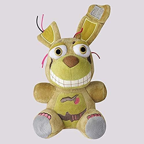 MZD Plush Toys Fnaf Springtrap Plush Toy Five Nights At Freddy Bear Stuffed Animals 25Cm