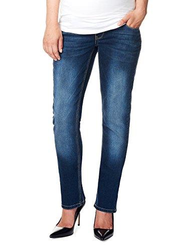 Noppies Damen Jeans OTB Comfort MENA Plus Umstandsjeans, Blau (Dark Stone Wash C296), 54 (Herstellergröße: 42)