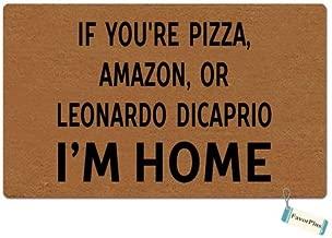 leonardo dicaprio pizza