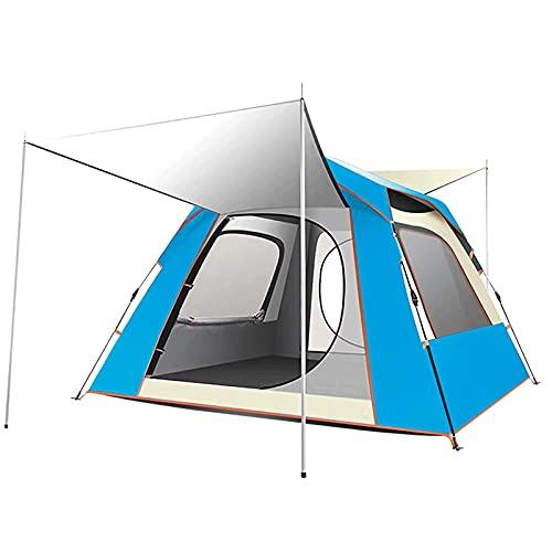 Tienda de campaña para acampar completamente automática, tienda de campaña de gasa al aire libre, carpa con doble cara de facturación rápida, adecuado para camping y senderismo al aire libre,A,Double
