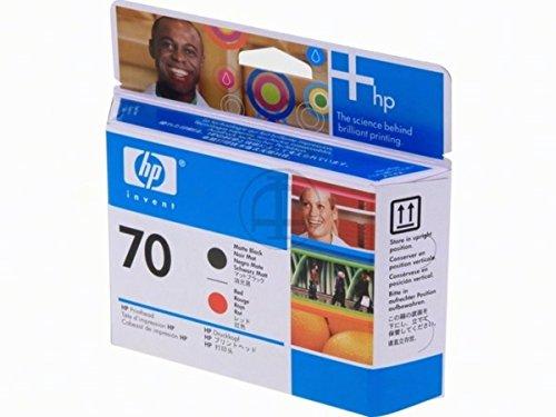 HP - Hewlett Packard DesignJet Z 3100 (70 / C 9409 A) - original - Druckkopf schwarz auf rot - 12ml