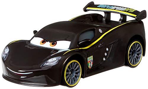Disney Cars FLM11 - Die-Cast Spielzeugauto Lewis Hamilton, Spielzeug ab 3 Jahren