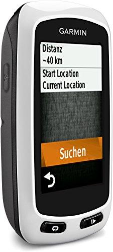 Garmin - Edge Touring - Compteur GPS de Vélo - Cartographie Routière Européenne préchargée - Blanc