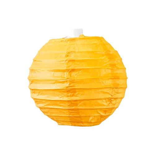 SKYLANTERN Boule Papier 10cm Orange