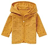 Noppies Baby - Jungen Strickjacke Cardigan Jersey Joke gefüttert (Honey Yellow, 74) 14N0311-747