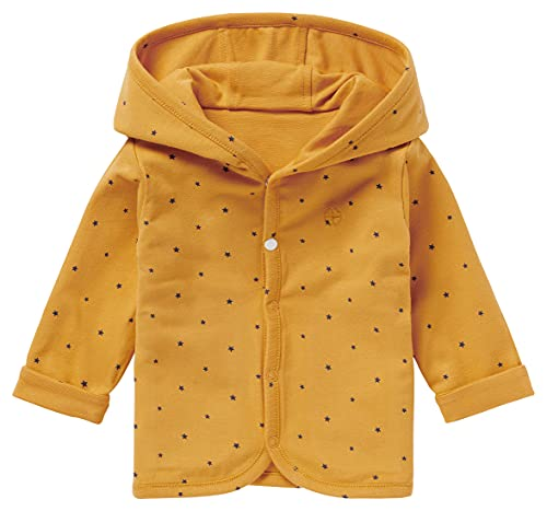Noppies Baby - Jungen Strickjacke Cardigan Jersey Joke gefüttert (Honey Yellow, 74) 14N0311-747