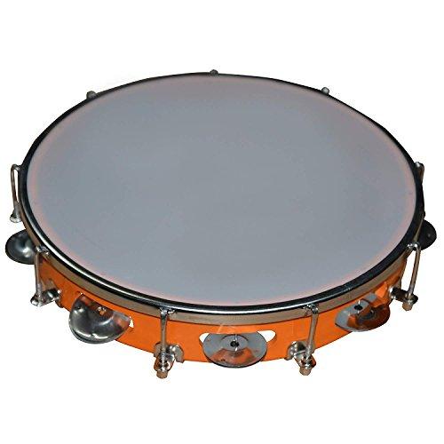 DronaIndia Tambourine Hand Percussion Musical Instrument