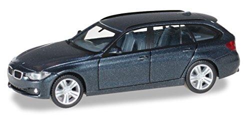 Herpa 038225–5,1cm BMW 3er Touring Model Set, Metallic Black